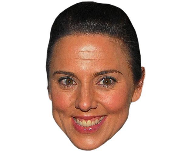 A Cardboard Celebrity Melanie C Mask