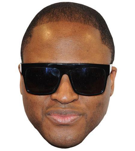A Cardboard Celebrity Taio Cruz Big Head