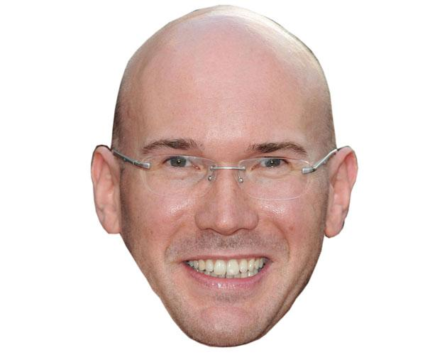 A Cardboard Celebrity Alex MacQueen Mask