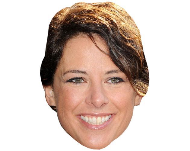 A Cardboard Celebrity Belinda Wilson-Wilson Mask