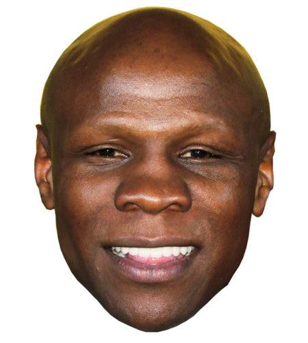 A Cardboard Celebrity Chris Eubank Mask