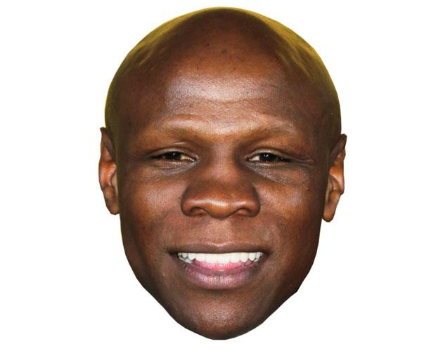 A Cardboard Celebrity Chris Eubank Mask