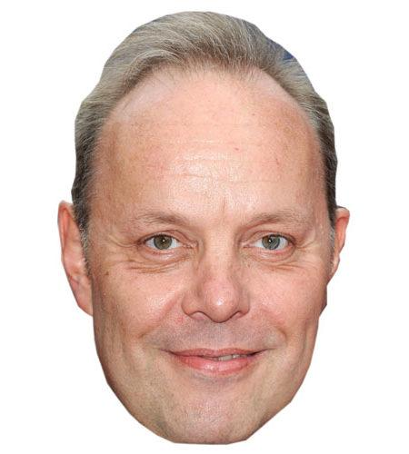 A Cardboard Celebrity David Schaal Mask