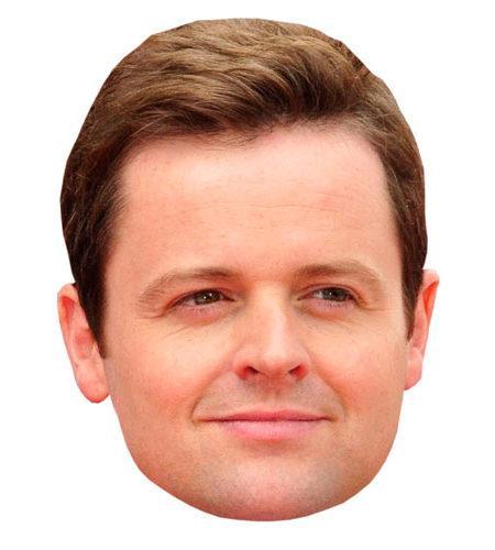 A Cardboard Celebrity Declan Donnelly Mask