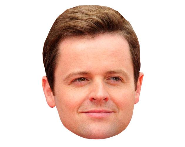 A Cardboard Celebrity Declan Donnelly Mask