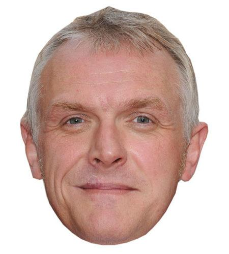 A Cardboard Celebrity Greg Davis Mask