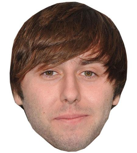 A Cardboard Celebrity Henry James Buckley Mask