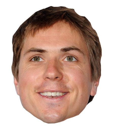 A Cardboard Celebrity Joe Thomas Mask