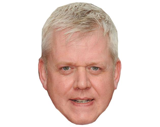 A Cardboard Celebrity Martin Trenaman Mask