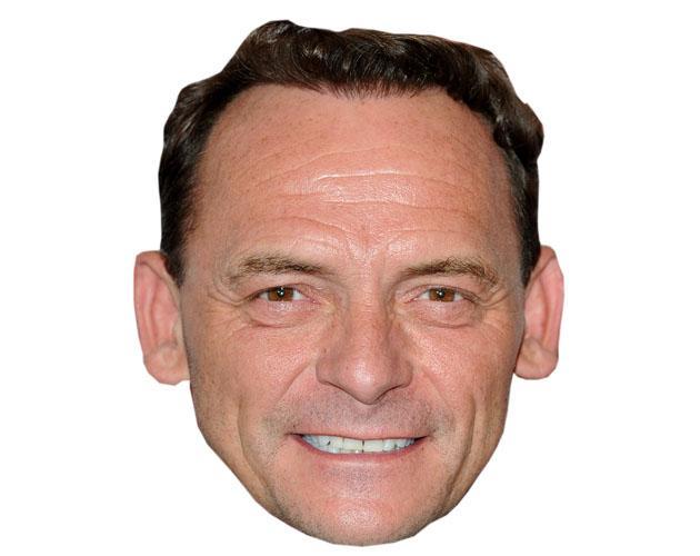 A Cardboard Celebrity Perry Fenwick Mask
