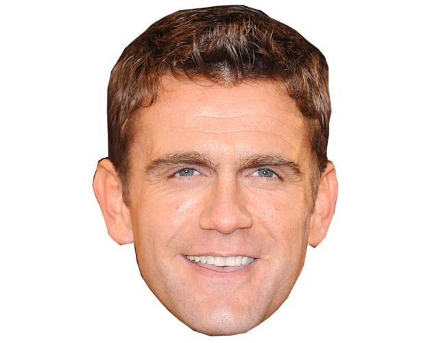 A Cardboard Celebrity Scott Maslen Mask