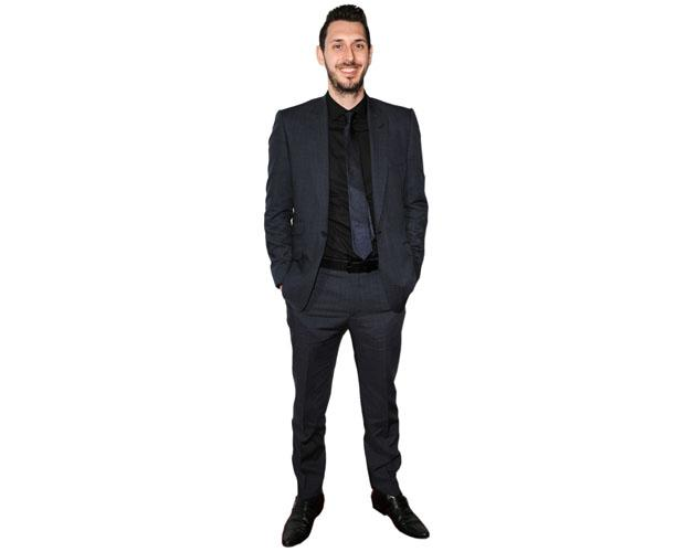A Lifesize Cardboard Cutout of Blake Harrison wearing a suit
