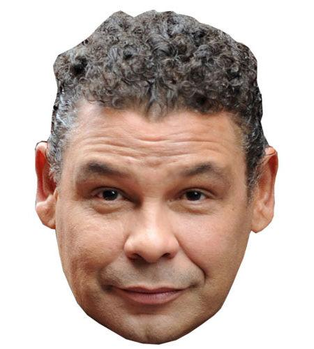 ACardboard Celebrity Big Head of Craig Charles