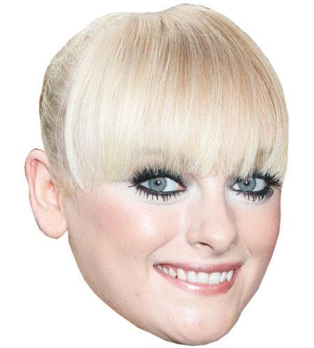 Katie McGlynn Cardboard Big Head