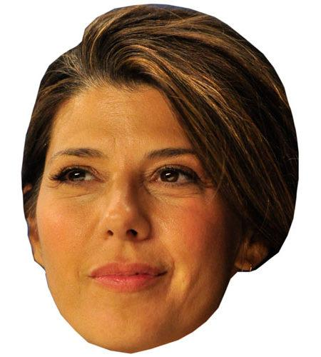 A Cardboard Celebrity Big Head of Marisa Tomei