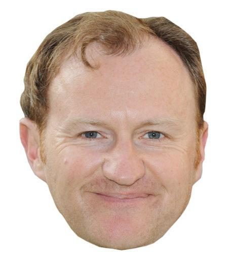 A Cardboard Celebrity Mark Gatiss Mask