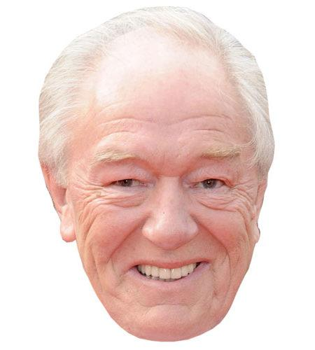 A Cardboard Celebrity Michael Gambon Mask