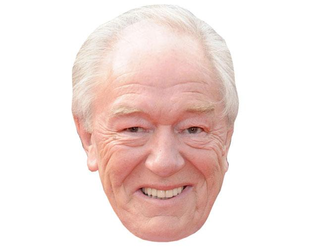 A Cardboard Celebrity Michael Gambon Mask