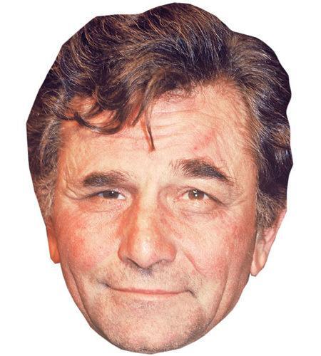 A Cardboard Celebrity Peter Falk Mask