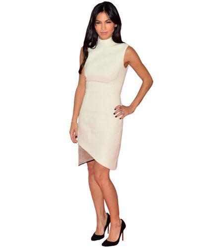 A Lifesize Cardboard Cutout of Elodie Yung wearing white