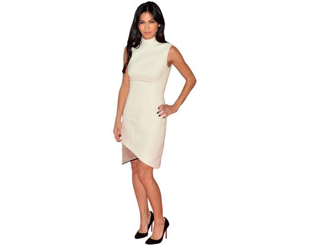 A Lifesize Cardboard Cutout of Elodie Yung wearing white