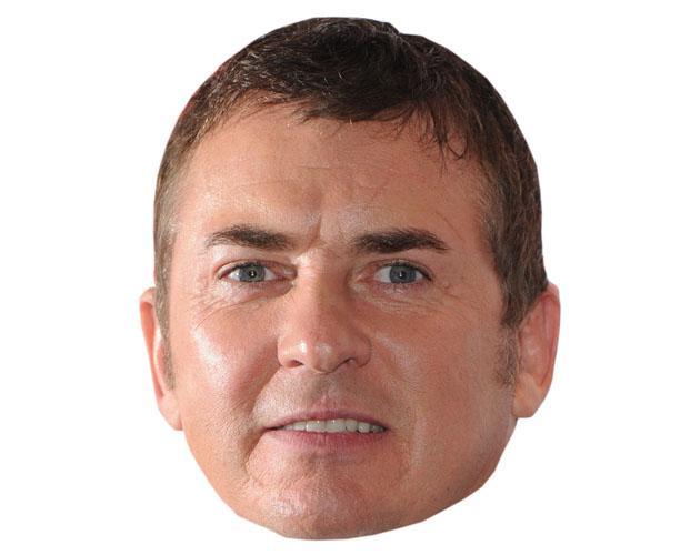 Cardboard Cutout Celebrity Shane Richie Mask