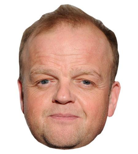 A Cardboard Celebrity Toby Jones Mask