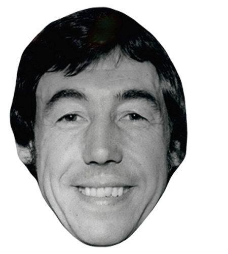 A Cardboard Celebrity Mask of Gordon Banks