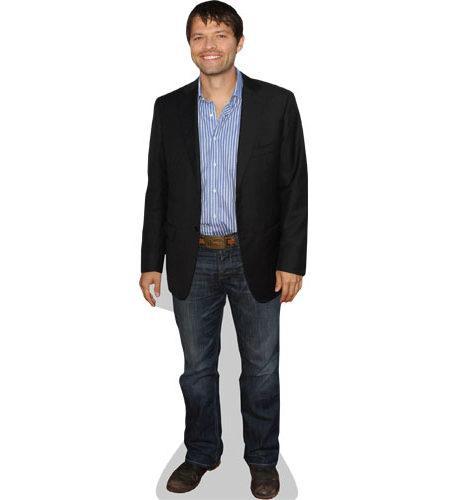 Misha Collins Cardboard Cutout