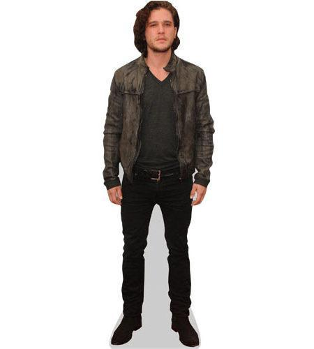 Kit Harrington Cardboard Cutout wearing a jacket
