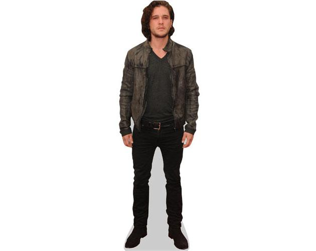 Kit Harrington Cardboard Cutout wearing a jacket