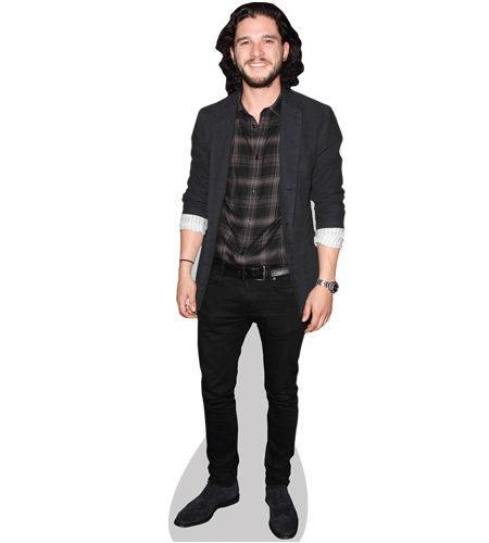 Kit Harington Shirt Cardboard Cutout