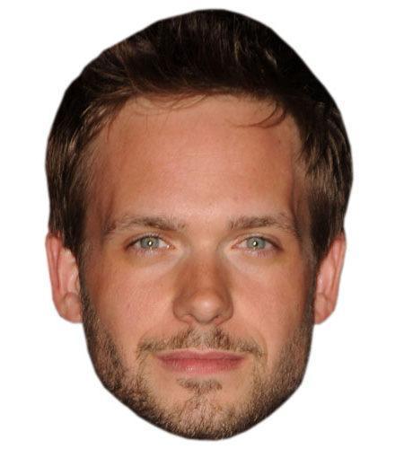 A Cardboard Celebrity Mask of Patrick J Adams
