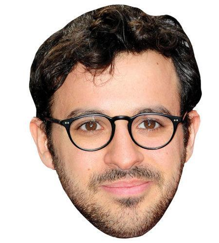A Cardboard Celebrity Simon Bird Mask