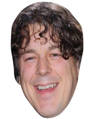 A Cardboard Celebrity Mask of Alan Davis