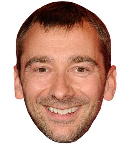 A Cardboard Celebrity Big Head of Charlie Condou