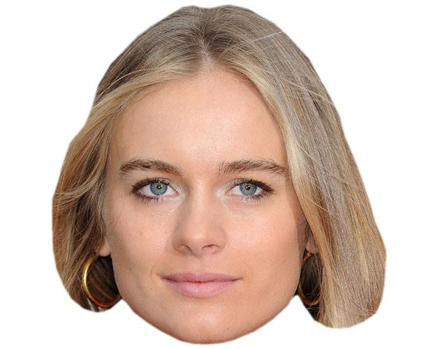A Cardboard Celebrity Mask of Cressida Bonas