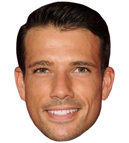 A Cardboard Celebrity Big Head of Danny Mac