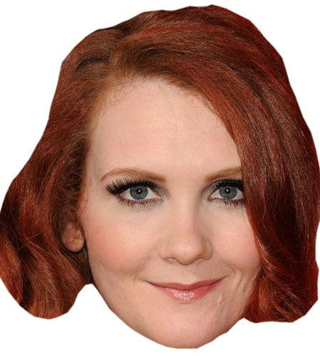 A Cardboard Celebrity Big Head of Jennie McApline