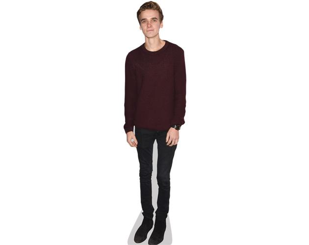 A Lifesize Cardboard Cutout of Joe Sugg wearing a jumper