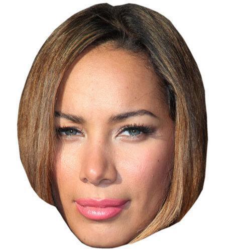 A Cardboard Celebrity Big Head of Leona Lewis