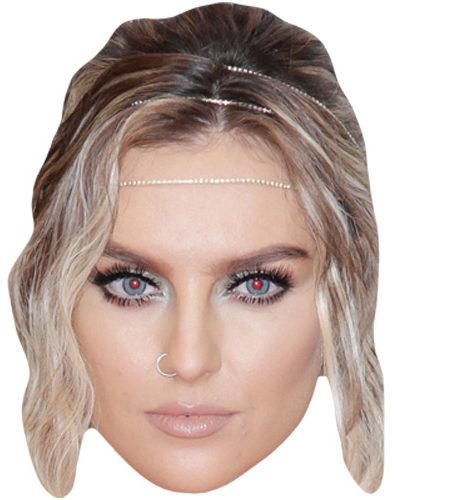 A Cardboard Celebrity Mask of Perrie Edwards