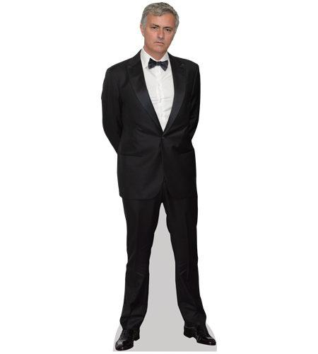 A Lifesize Cardboard Cutout of Jose Mourinho wearing a suit