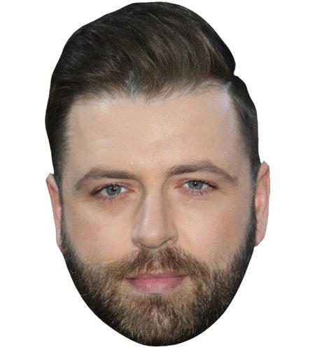 A Cardboard Celebrity Big Head of Markus Feehily