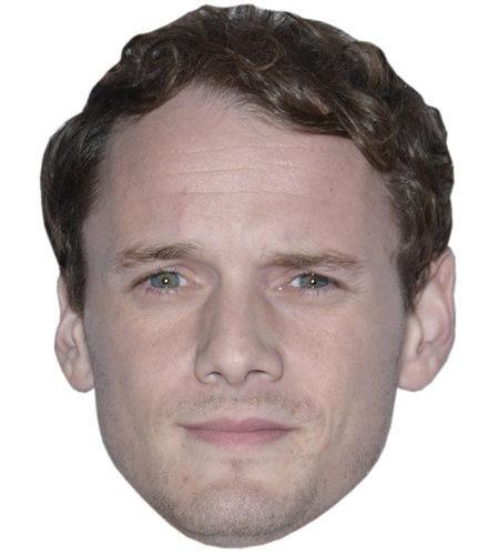 A Cardboard Celebrity Mask of Anton Yelchin