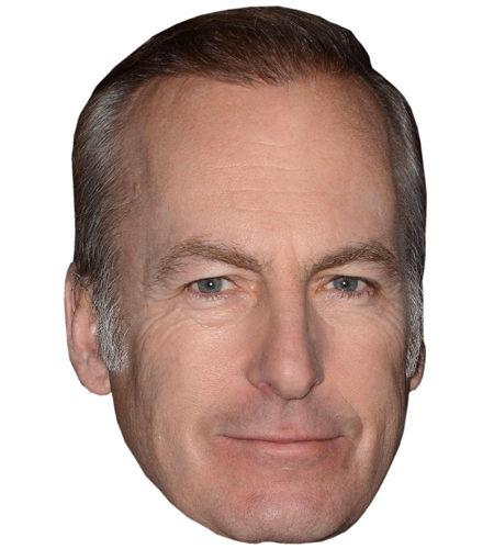 A Cardboard Celebrity Mask of Bob Odenkirk