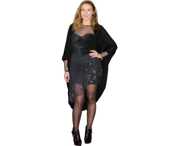 A Lifesize Cardboard Cutout of Charlotte Church