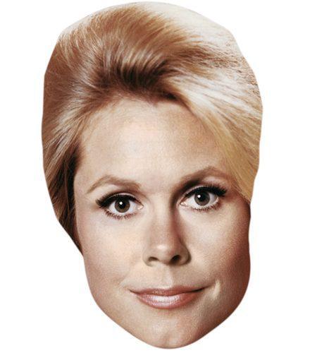 A Cardboard Celebrity Mask of Elizabeth Montgomery