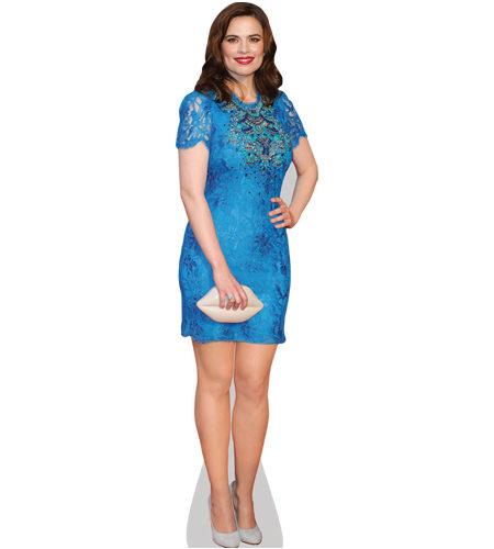 A Lifesize Cardboard Cutout of Hayley Atwell