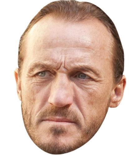A Cardboard Celebrity Mask of Jerome Flynn